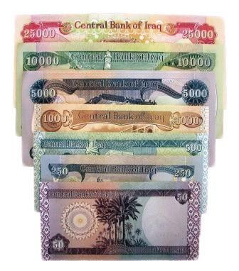 Iraqi dinar denominations