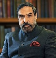 Indian Minister, Anand Sharma