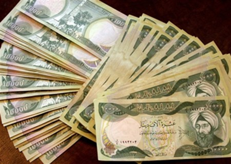 10K Iraqi Dinar notes